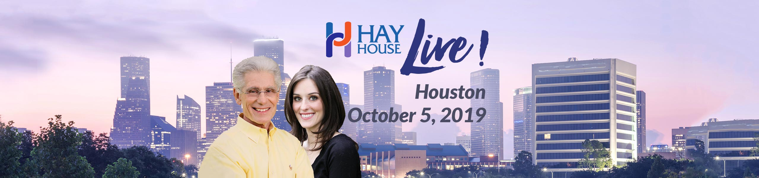 Hay House Live! Houston 2019 - Brian Weiss M.D. and Amy Weiss